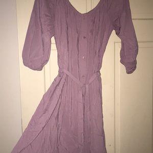 Like new off the shoulder lavender dress